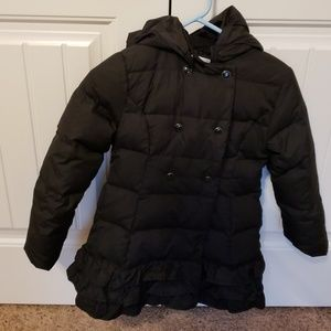 Girl's Gymboree coat with removable hood